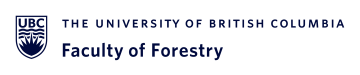 banner UBC Faculty of Forestry